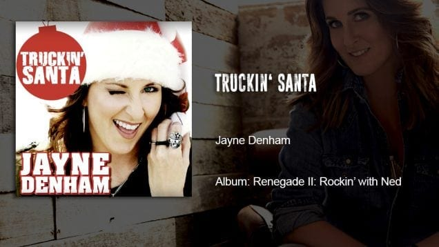 Trucking Music – Truckin Santa by Jayne Denham