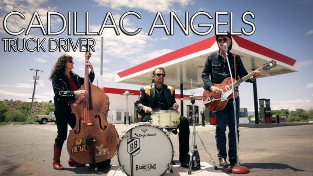 """Cadillac Angels """"Truck Driver"""" Official Music Video"""