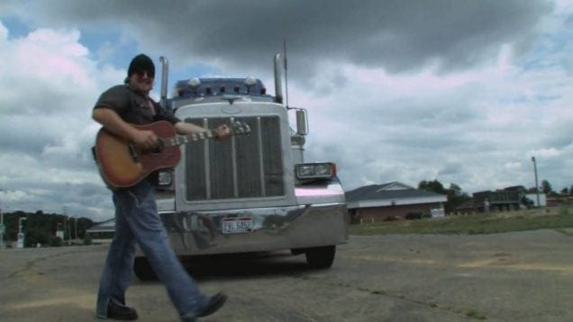 "Pure Grain – ""Truckin Song"" feat. Dave Barnes on slide guitar"