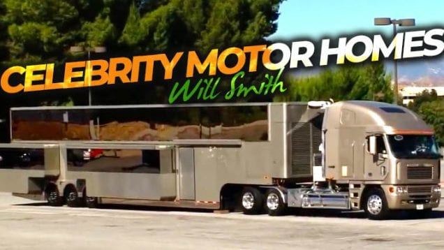 Celebrity Motor Homes – Will Smith
