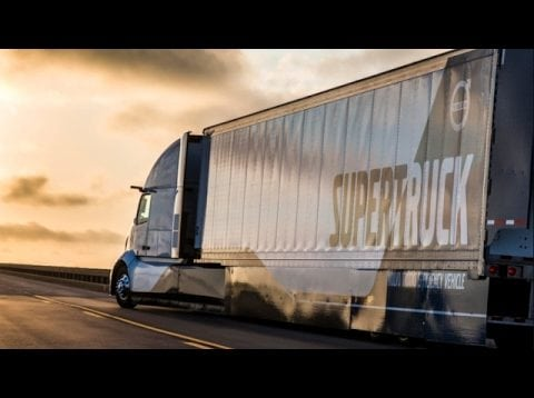 On The Spot… Behind The Wheel Of A SuperTruck