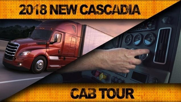 Ultimate Test Drives… 2018 New Cascadia: Get Behind The Wheel