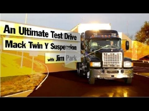 Ultimate Test Drives… Abusing Mack's Twin Y Suspension… And Loving It!