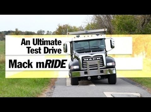 Ultimate Test Drives… Mack mRIDE: A Workin' Truck's Suspension