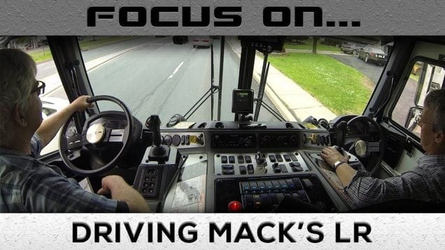 Focus On Driving Mack's LR Refuse Truck