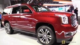 2018 GMC Yukon Denali – Exterior and Interior Walkaround – 2018 Detroit Auto Show