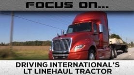 Behind the Wheel – International's New LT Highway Tractor