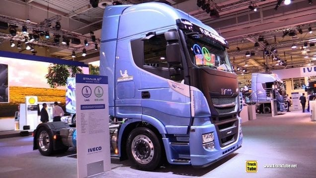 2019 Iveco Stralis NP 460 1150km Range LNG Tractor – Exterior and Interior Walkaround – 2018 IAA