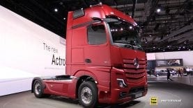 2019 Mercedes Actros 1853 Sleeper Truck – Exterior Interior Walkaround – Debut at 2018 IAA Hannover