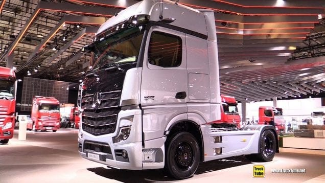 2019 Mercedes Actros 1863 LS Edition 1 625hp Tractor – Exterior and Interior Walkaround – 2018 IAA
