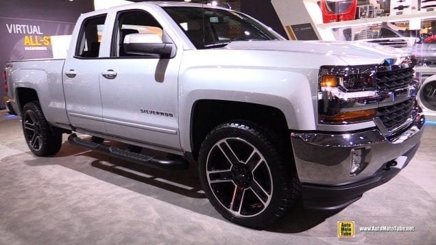 2018 Chevrolet Silverado LT – Exterior and Interior Walkaround – 2018 New York Auto Show