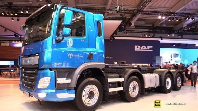 2019 DAF CF 450 FAX 450hp Tractor – Exterior and Interior Walkaround – 2018 IAA Hannover