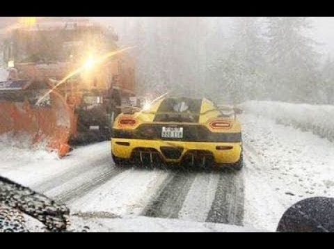 50 EXAMPLES HOW NOT TO DRIVE ON SNOW
