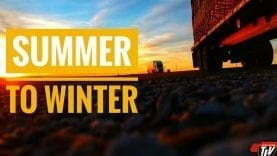My Trucking Life – DRIVING FROM SUMMER INTO WINTER – #1576