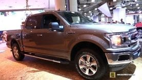 2018 Ford F150 XLT Supercrew – Exterior and Interior Walkaround – 2018 New York Auto Show
