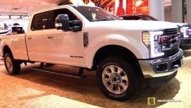 2018 Ford F350 King Ranch – Exterior and Interior Walkaround – 2018 New York Auto Show