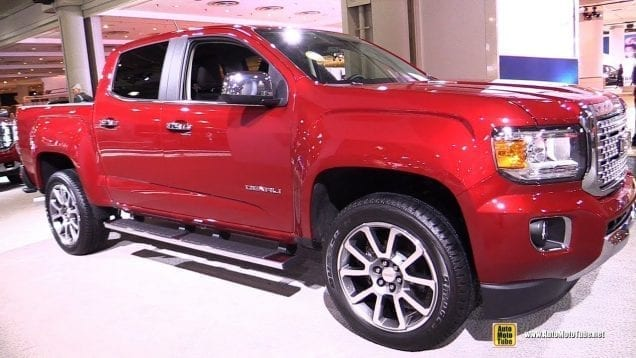2018 GMC Canyon Denali – Exterior and Interior Walkaround – 2018 New York Auto Show