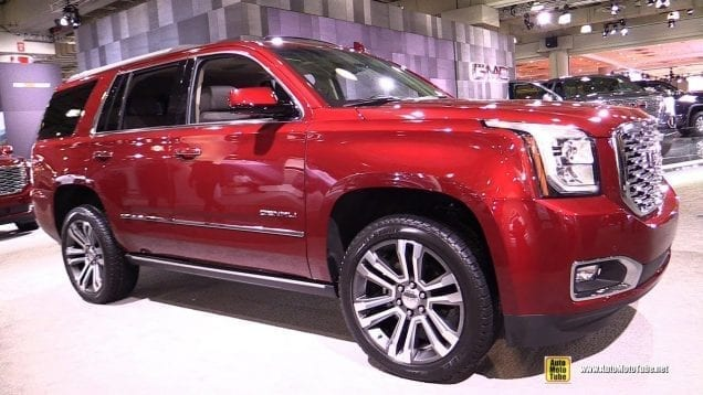 2018 GMC Yukon Denali – Exterior and Interior Walkaround – 2018 New York Auto Show