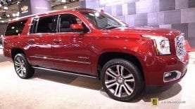 2018 GMC Yukon Denali XL – Exterior and Interior Walkaround – 2018 New York Auto Show