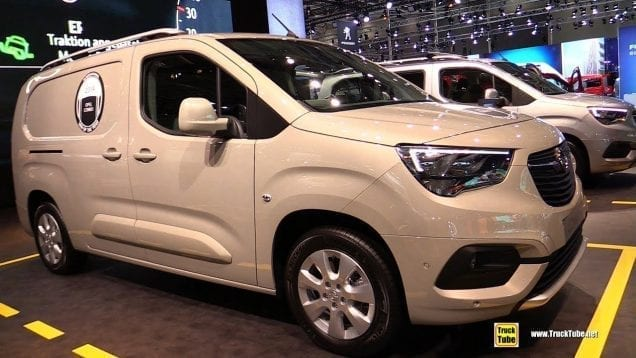 2019 Opel Combo Cargo XL Edition – Exterior and Interior Walkaround – 2018 IAA Hannover