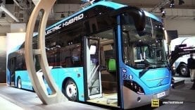 2019 Volvo 7900 Electric Hybrid Bus – Exterior and Interior Walkaround – 2019 IAA Hannover