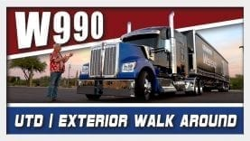 Kenworth W990 Walkaround