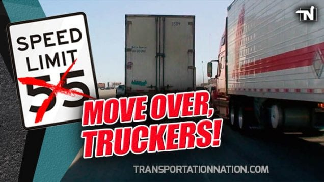 Move Over Truckers