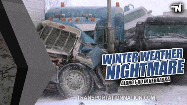 Winter Weather Nightmare I-80 Nebraska