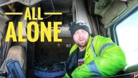 My Trucking Life | ALL ALONE | #1648