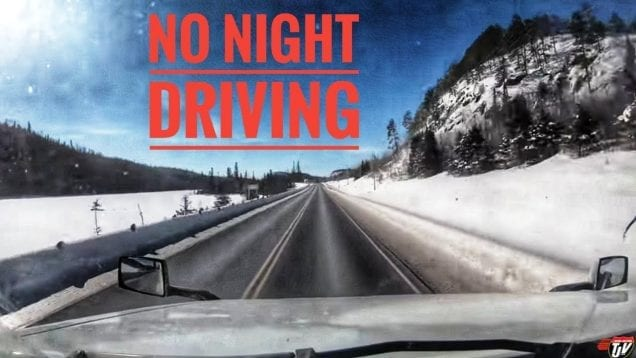 My Trucking Life | NO NIGHT DRIVING | #1647