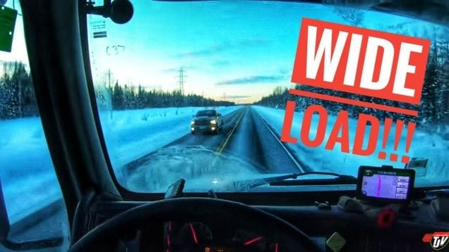 My Trucking Life | WIDE LOAD!!! | #1646