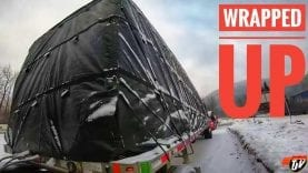My Trucking Life | WRAPPED UP IN B.C. | #1639