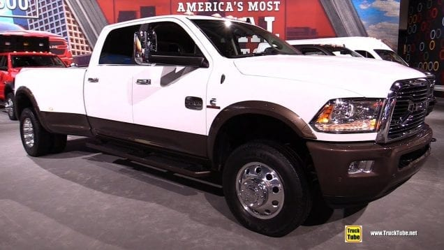 2019 Ram 3500 Laramie Long Horn – Exterior and Interior Walkaround – 2018 LA Auto Show