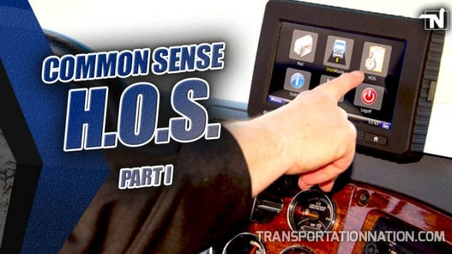 Common Sense HOS – Part I