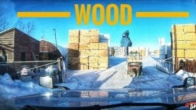 My Trucking Life | HAULING WOOD | #1650