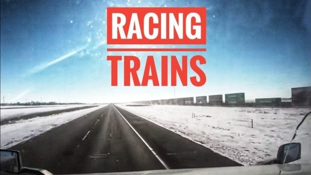 My Trucking Life | RACING TRAINS | #1651