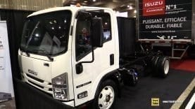 2019 Isuzu NRR Diesel Truck – Exterior and Interior Walk Around – 2019 Expocam Montreal