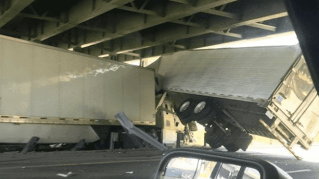 One Truck Driver Dies In Multiple Semi Crash On I-64