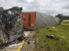 Trucker Loses Life In 4-Vehicle Crash