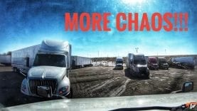 My Trucking Life | MORE CHAOS!!! | #1672