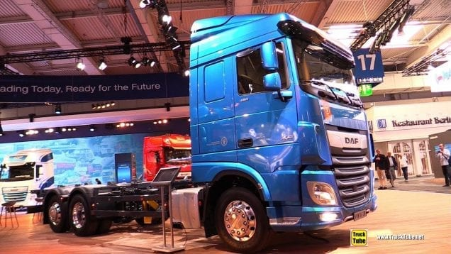 2019 DAF XF 480 FAN 480hp Tractor – Exterior and Interior Walk Around – 2018 IAA Hannover