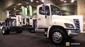2019 Hino 358 Truck – Exterior and Interior Walkaround – 2019 Expocam Montreal