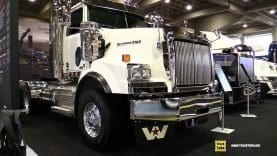 2019 Western Star 4900 SB tractor with Detroit DD16 530hp Engine – Walk Around