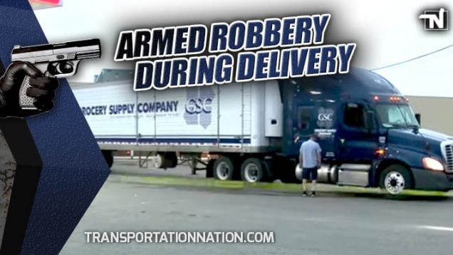 Armed Robbery During Delivery – Trucker