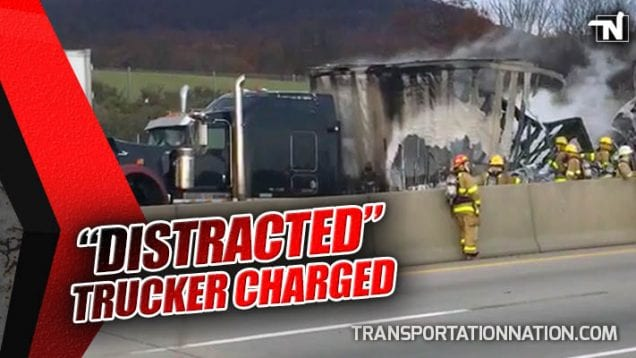Distracted Trucker Charged – Fatal Crash Kills Couple Headed to Their Own Wedding
