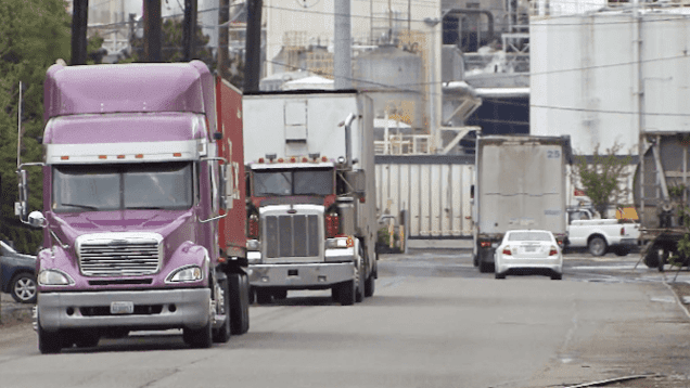 FTR Trucking Conditions Index Turns Negative
