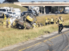 Flatbed Crushes Semi Passenger In College Station, Texas