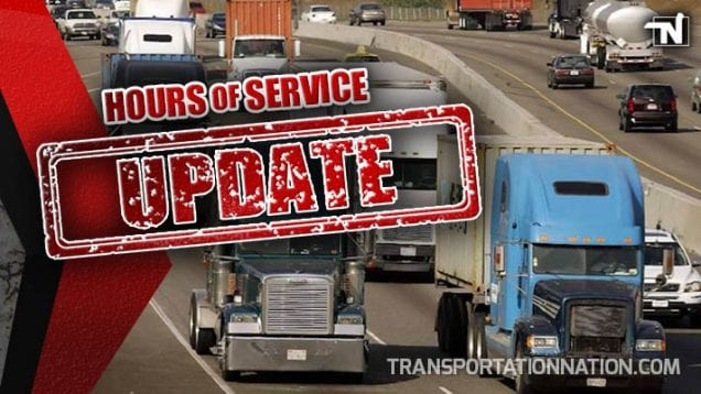 Hours of Service Update – May 1 2019