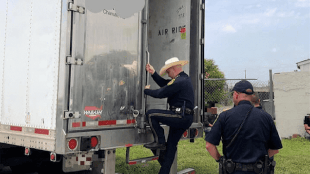 Truck Driver Questioned In Bexar County Human Trafficking Bust
