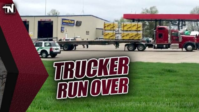 Trucker Killed After Being Run Over in Truckstop Parking Lot